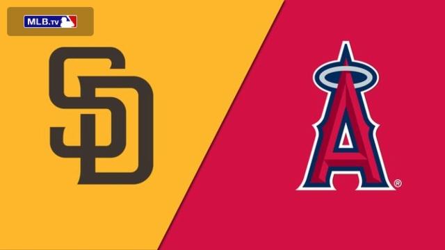 San Diego Padres vs. Los Angeles Angels of Anaheim