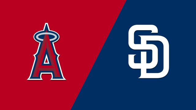 Los Angeles Angels vs. San Diego Padres