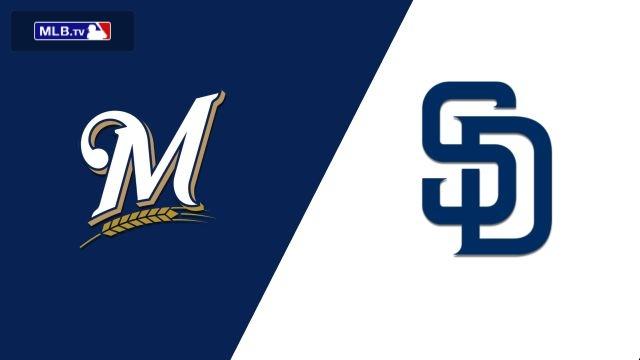 Milwaukee Brewers vs. San Diego Padres