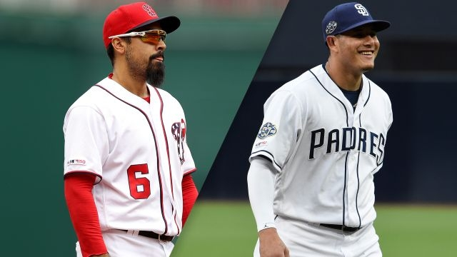 Washington Nationals vs. San Diego Padres