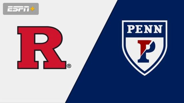 Rutgers vs. Pennsylvania (W Lacrosse)