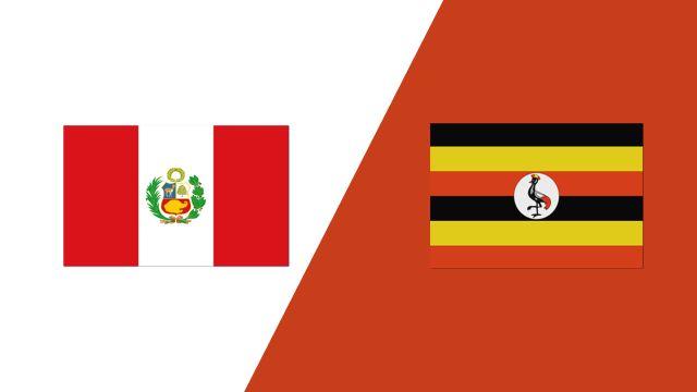 Peru vs. Uganda (2018 FIL World Lacrosse Championships)