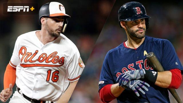Baltimore Orioles vs. Boston Red Sox