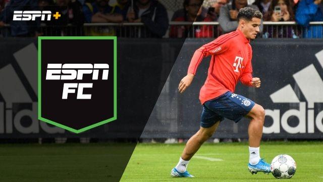 Tue, 8/20 - ESPN FC: Coutinho's new home