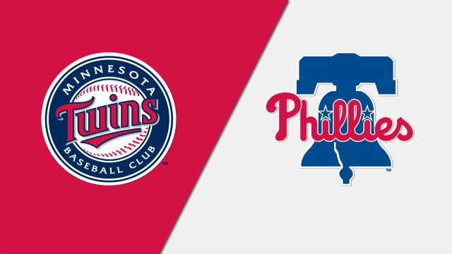 Minnesota Twins vs. Philadelphia Phillies