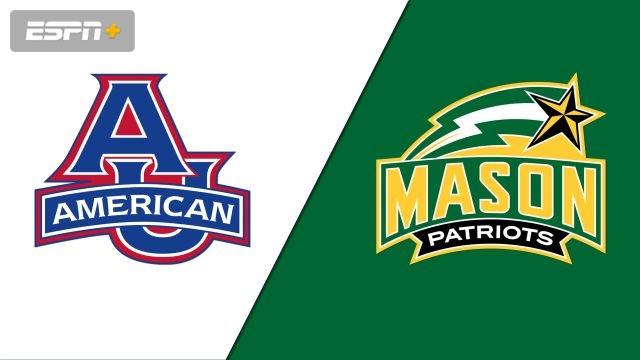 American vs. George Mason (W Basketball)