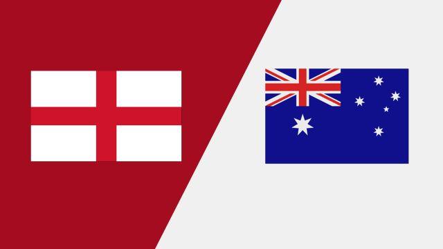 England vs. Australia (2018 FIL World Lacrosse Championships)