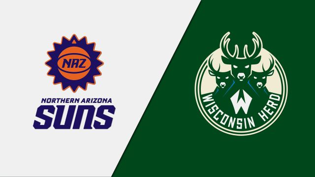 Northern Arizona Suns vs. Wisconsin Herd