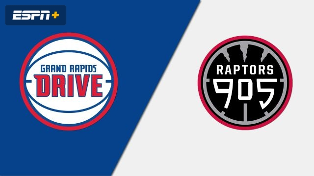 Grand Rapids Drive vs. Raptors 905