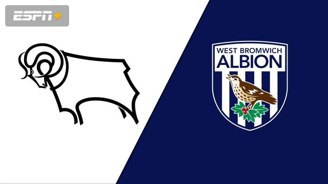 Derby County vs. West Bromwich Albion (English League Championship)