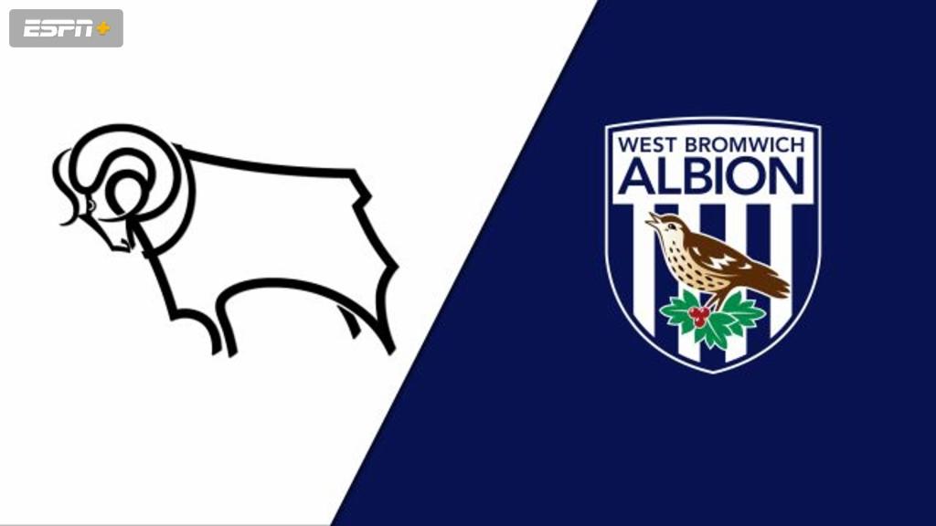 Derby County vs. West Bromwich Albion (English League Championship)