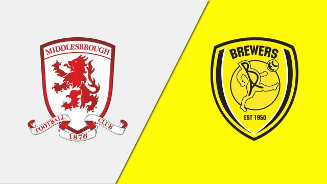 Middlesbrough vs. Burton Albion (Quarterfinal)
