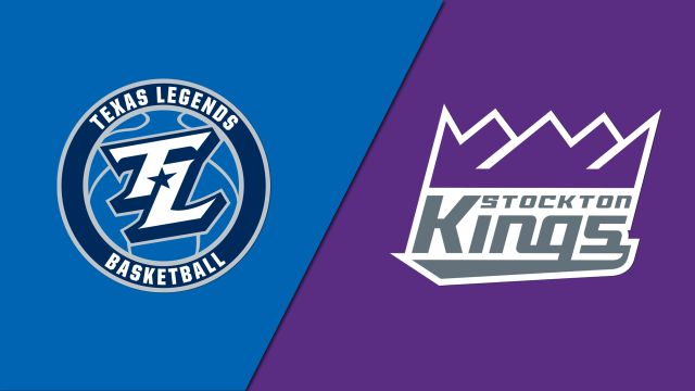 Texas Legends vs. Stockton Kings