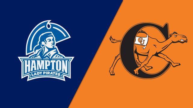 Hampton vs. Campbell (W Volleyball)
