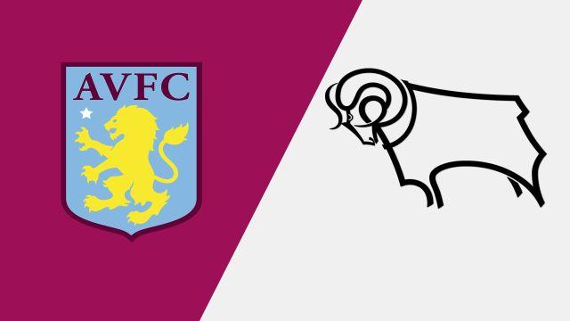 Aston Villa vs. Derby County (English League Championship)