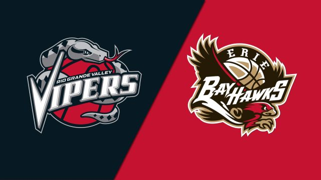 Rio Grande Valley Vipers vs. Erie BayHawks
