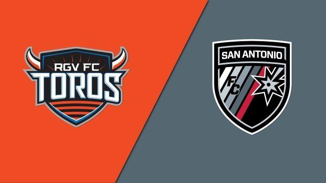 Rio Grande Valley FC Toros vs. San Antonio FC (USL Championship)