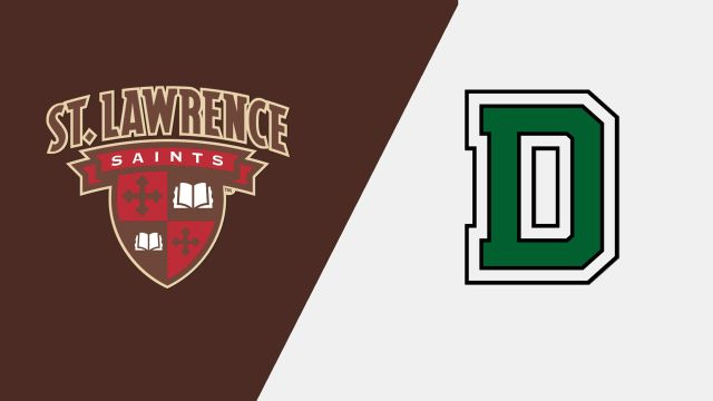 St. Lawrence vs. Dartmouth (W Hockey)
