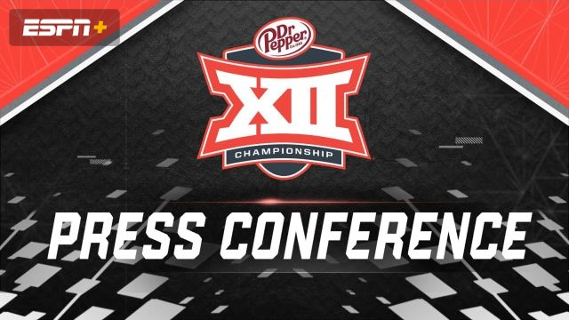 Big 12 Championship Game Press Conference