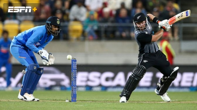 New Zealand vs. India (5th T20)