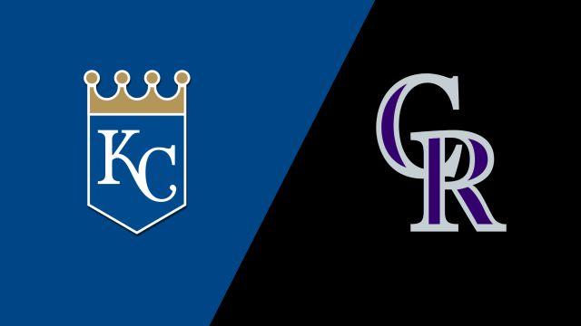 Kansas City Royals vs. Colorado Rockies