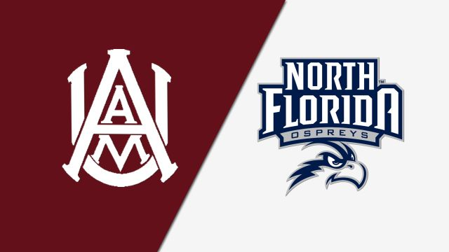 Alabama A&M vs. North Florida (W Basketball)