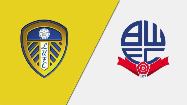 Leeds United vs. Bolton Wanderers (English League Championship)