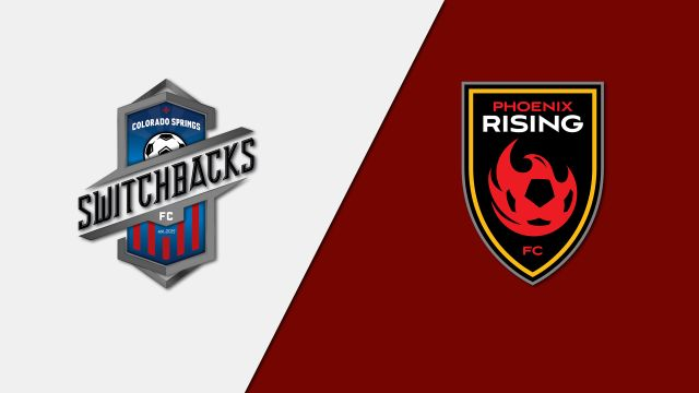 Colorado Springs Switchbacks FC vs. Phoenix Rising FC