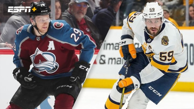 Colorado Avalanche vs. Nashville Predators