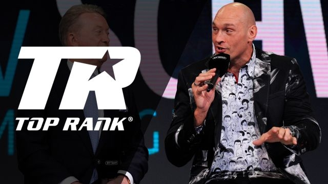 Top Rank Boxing on ESPN: Fury vs. Schwarz Official Press Conference
