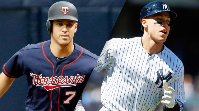 Minnesota Twins vs. New York Yankees