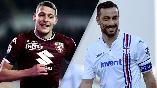 Torino vs. Sampdoria (Serie A)