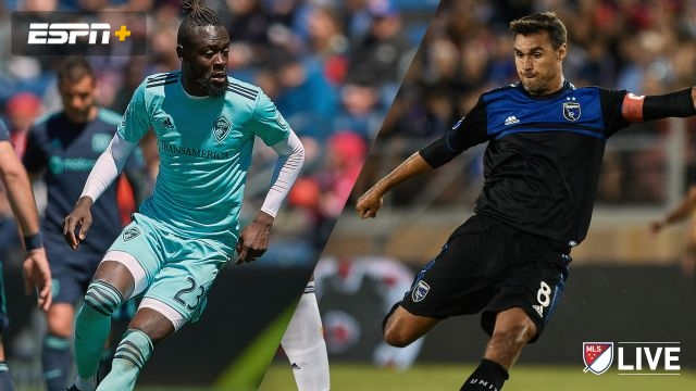 Colorado Rapids vs. San Jose Earthquakes (MLS)
