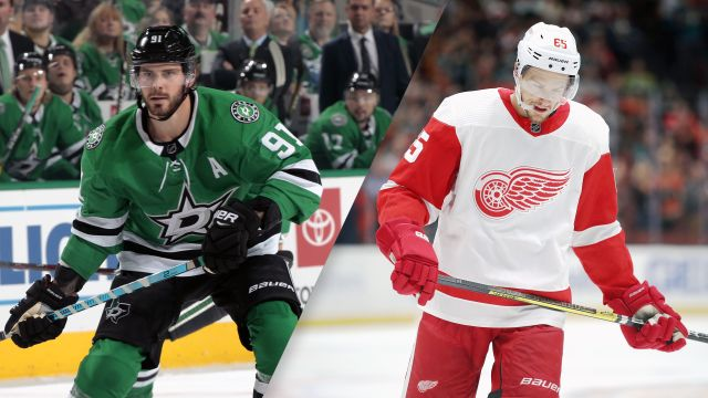 Dallas Stars vs. Detroit Red Wings