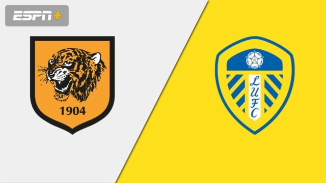 Hull City vs. Leeds United (English League Championship)
