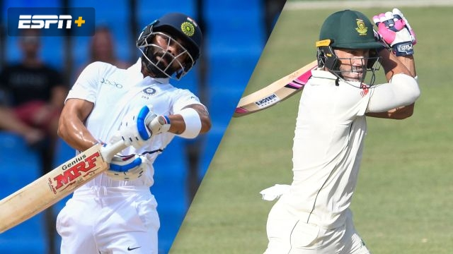 India vs. South Africa (1st Test - Day 1)