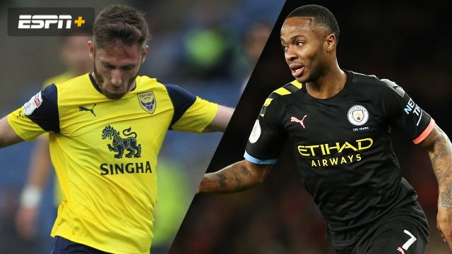 Oxford United vs. Manchester City (Quarterfinal) (Carabao Cup)