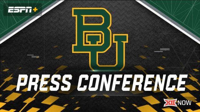 Baylor Football Press Conference
