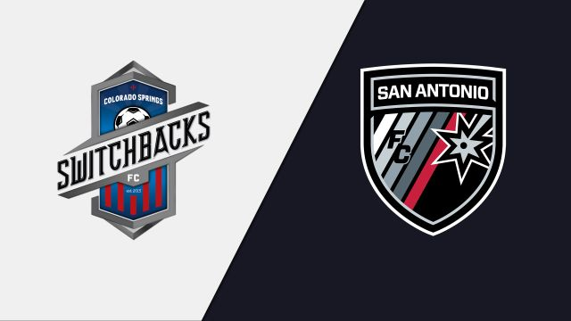 Colorado Springs Switchbacks FC vs. San Antonio FC (United Soccer League)