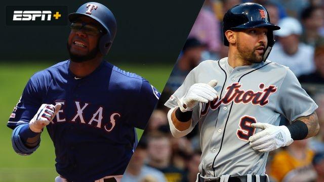 Texas Rangers vs. Detroit Tigers