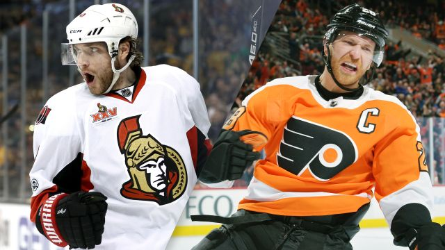 Ottawa Senators vs. Philadelphia Flyers