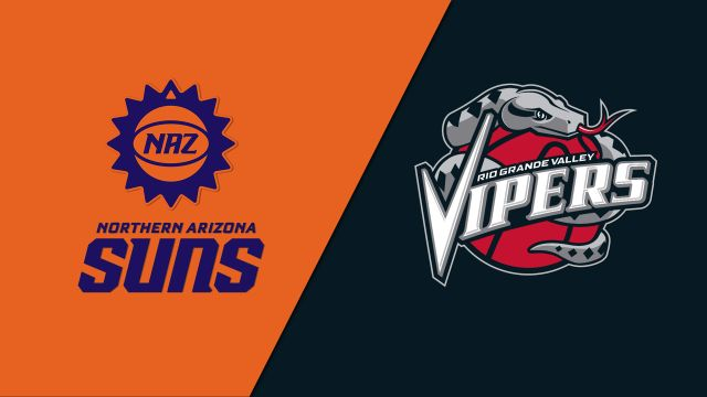 Northern Arizona Suns vs. Rio Grande Valley Vipers