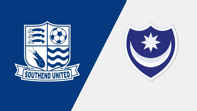 Southend United vs. Portsmouth (English League One)