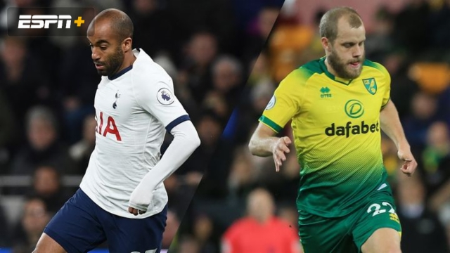 In Spanish-Tottenham Hotspur vs. Norwich City (5th Round) (FA Cup)
