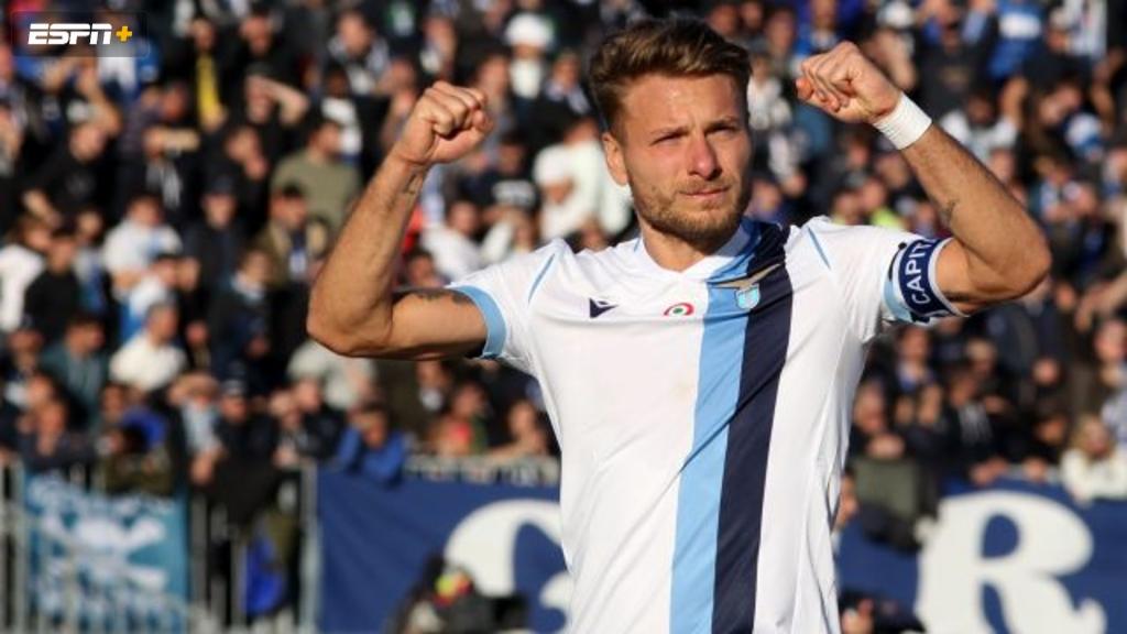In Spanish-Lazio vs. Cremonese (Octavos de Final) (Coppa Italia)
