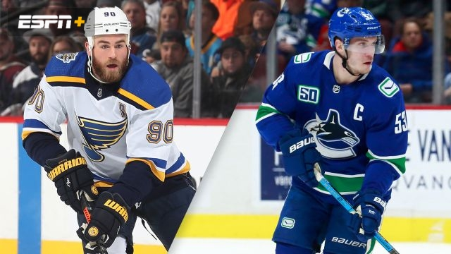St. Louis Blues vs. Vancouver Canucks