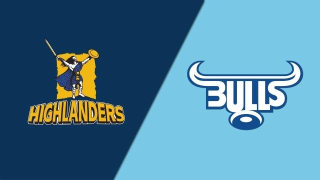 Highlanders vs. Bulls (Super Rugby)