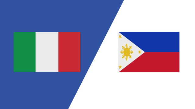 Italy vs. Philippines (2018 FIL World Lacrosse Championships)