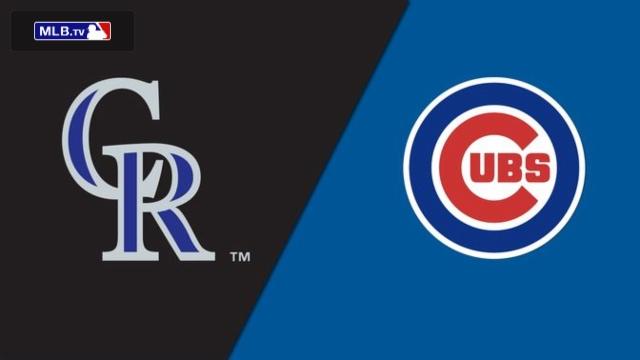 Colorado Rockies vs. Chicago Cubs