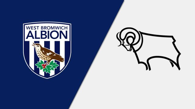 West Bromwich Albion vs. Derby County (English League Championship)
